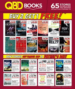 Books & Leisure offers in the QBD catalogue in Brisbane QLD