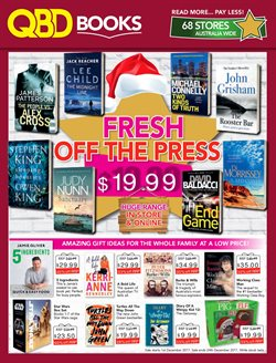 Books & Leisure offers in the QBD catalogue in Sydney NSW