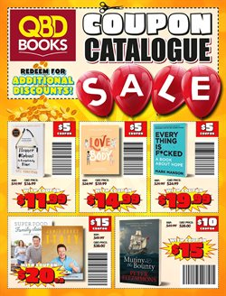 Offers from QBD in the Sydney NSW catalogue