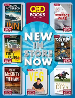 Books & Hobby offers in the QBD catalogue in Sydney NSW