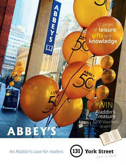 Books & Hobby offers in the Abbey's Bookshop catalogue in Sydney NSW