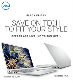 Black Friday specials in the Dell catalogue ( Expires tomorrow)