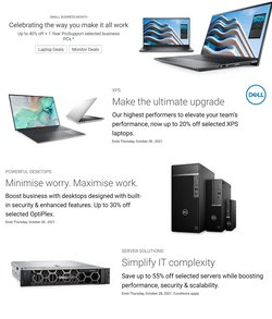 Electronics & Appliances specials in the Dell catalogue ( 1 day ago)