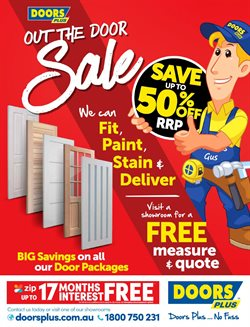 Homeware & Furniture offers in the Doors Plus catalogue ( 10 days left )
