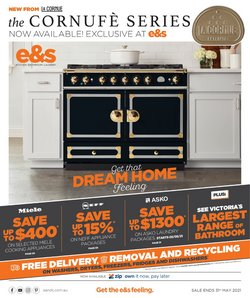 E&S Trading specials in the E&S Trading catalogue ( Expired)