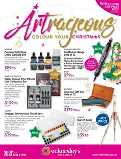 Offers from Eckersley's Art & Craft in the Melbourne VIC catalogue