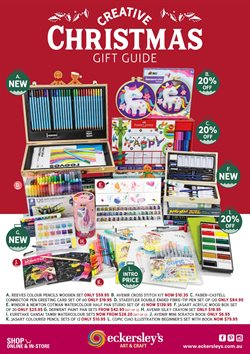 Books & Hobby offers in the Eckersley's Art & Craft catalogue in Sydney NSW ( 28 days left )