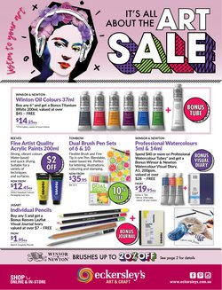 Books & Hobby specials in the Eckersley's Art & Craft catalogue ( 6 days left)