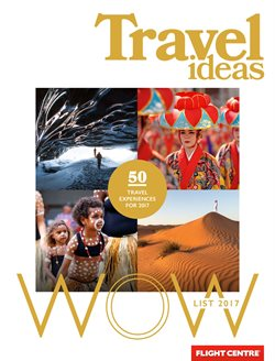 Travel offers in the Flight Centre catalogue in Rockingham WA