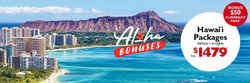 Travel & Leisure offers in the Flight Centre catalogue in Nelson Bay NSW