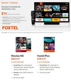 Electronics & Appliances specials in the Foxtel catalogue ( More than one month)