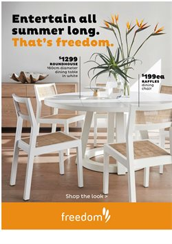 Offers from Freedom in the Parramatta NSW catalogue