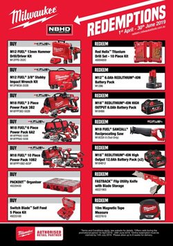 Offers from Gasweld Tool Centre in the Sydney NSW catalogue