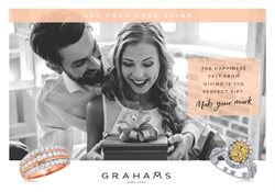 Offers from Grahams Jewellers in the Adelaide SA catalogue