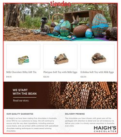 Easter specials in the Haigh's Chocolates catalogue ( 21 days left)