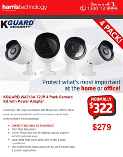 Offers from Harris Technology in the Sydney NSW catalogue