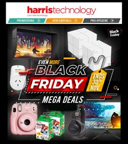 Electronics & Appliances offers in the Harris Technology catalogue in Sydney NSW ( Expires today )