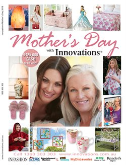Offers from Innovations in the Sydney NSW catalogue