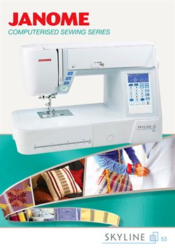 Offers from Janome in the Sydney NSW catalogue
