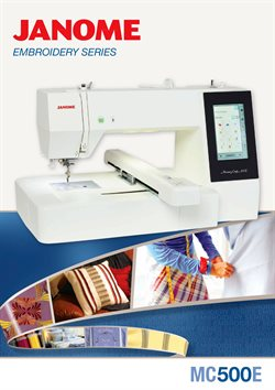Janome catalogue ( More than one month )