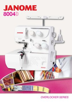 Homeware & Furniture specials in the Janome catalogue ( 1 day ago)