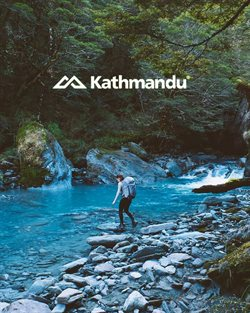 Offers from Kathmandu in the Melbourne VIC catalogue