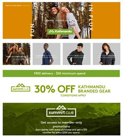 Sport offers in the Kathmandu catalogue in Sydney NSW ( 7 days left )