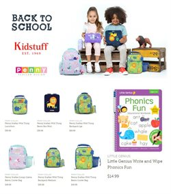Offers of Back To School in Kidstuff