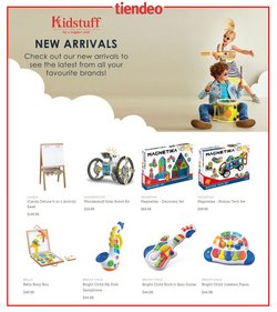 Kids, Toys & Babies offers in the Kidstuff catalogue ( 2 days ago )