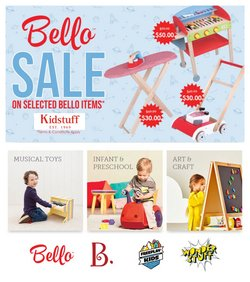Kids, Toys & Babies specials in the Kidstuff catalogue ( 8 days left)