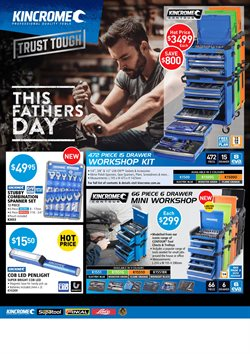 Offers from Kincrome in the Sydney NSW catalogue