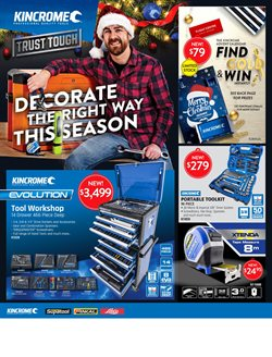 Offers from Kincrome in the Melbourne VIC catalogue