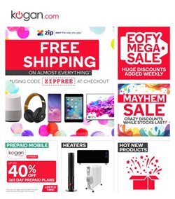 Department Stores offers in the Kogan catalogue in Bairnsdale VIC