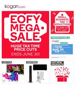 Department Stores offers in the Kogan catalogue in Sydney NSW