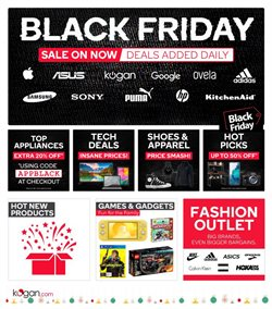 Black Friday specials in the Kogan catalogue ( Expires today)