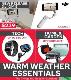Department Stores specials in the Kogan catalogue ( 20 days left)
