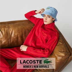 Lacoste specials in the Lacoste catalogue ( More than one month)