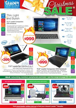 Electronics & Appliances offers in the Leader Computers catalogue in Kingaroy QLD