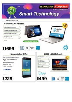 Offers from Leading Edge Computers in the Brisbane QLD catalogue