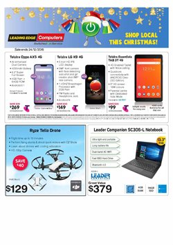Electronics & Appliances offers in the Leading Edge Computers catalogue in Bairnsdale VIC