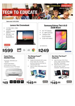 Electronics & Appliances offers in the Leading Edge Computers catalogue in Roma QLD