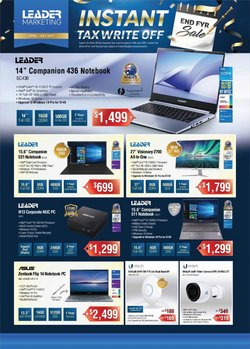 Electronics & Appliances specials in the Leading Edge Computers catalogue ( 5 days left)