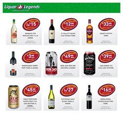 Offers from Liquor Legends in the Brisbane QLD catalogue