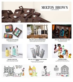 Offers from Molton Brown in the Sydney NSW catalogue