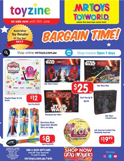 Offers from Mr Toys in the Brisbane QLD catalogue