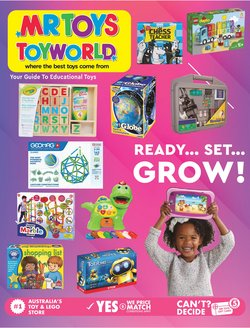 Kids, Toys & Babies specials in the Mr Toys catalogue ( 11 days left)