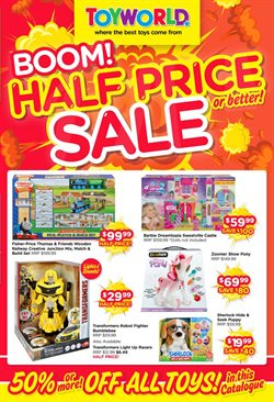 Toys & Babies offers in the Toyworld catalogue in Mandurah WA