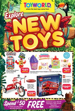 Toys & Babies offers in the Toyworld catalogue in Adelaide SA