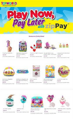 Offers from Toyworld in the Brisbane QLD catalogue
