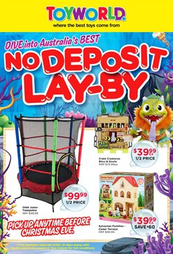 Toys & Babies offers in the Toyworld catalogue in Bendigo VIC